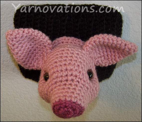"Pig and Wild Boar Crochet Pattern ""Pork Chop"""