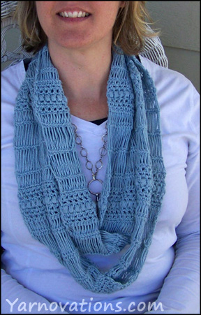 Broomstick Lace Scarf Pattern