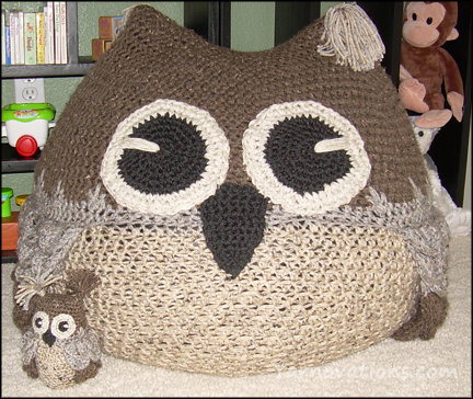 Owl Bean Bag Chair