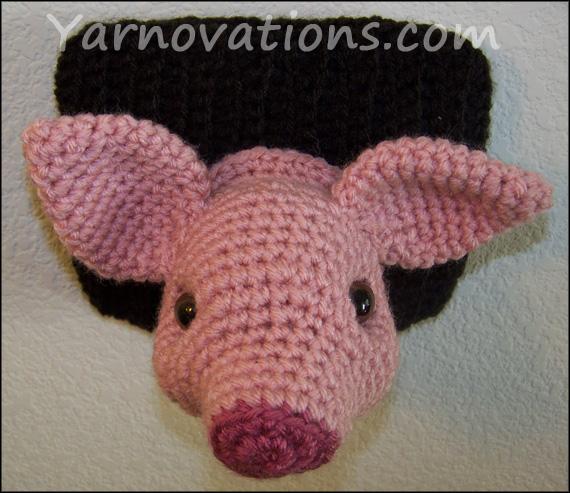 "Pig and Wild Boar Crochet Pattern ""Pork"